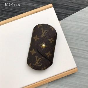 路易威登lv法国新款老花Monogram帆布制钥匙包M60116