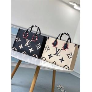 路易威登lv法国官网CRAFTY ONTHEGO手袋购物袋M45373/M45372