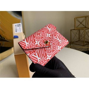 路易威登LV女士短款三折钱包CRAFTY VICTORINE 钱夹(中国限定款)M69743