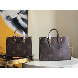 路易威登官网lv包包批发ONTHEGO 中/大号手袋购物袋M45321/M45320