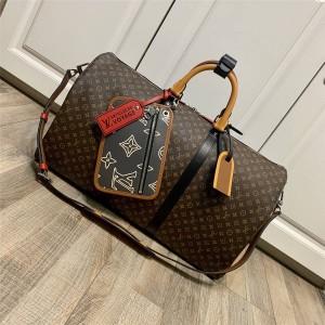 路易威登官网上海lv专卖店男包KEEPALL BANDOULIÈRE 50 旅行袋M56855