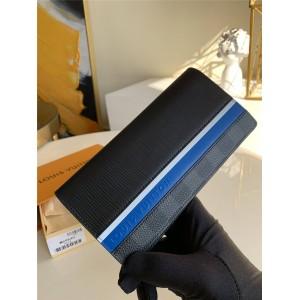 LV官网奢侈品海外代购男士长款两折钱包BRAZZA 钱夹M69540