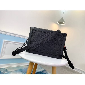 LV官网上海奢侈品折扣店SOFT TRUNK 链条包盒子包M53288