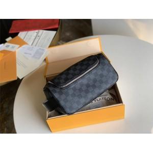 LV官网北京奢侈品折扣店新款盥洗包手拿包收纳包N47625