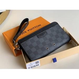 LV官网全球奢侈品网站男士长款钱包ZIPPY DRAGONNE 钱夹N60379
