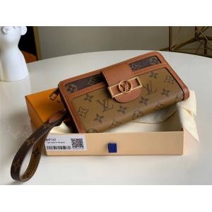LV官网奢侈品打折网达芙妮长款ZIPPY DAUPHINE 钱夹钱包M69162