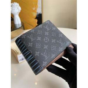 LV官网奢侈品专卖男士短款对折钱包MULTIPLE 钱夹M69699