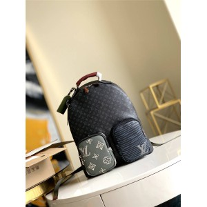 LV官网奢侈品网购网站男士BPACK PATCHWORK系列双肩包M56853