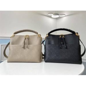 路易威登官网LV奢侈品包包Veau Cachemire皮革Melie手袋M45522