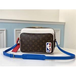 路易威登官网LV奢侈品包包排行榜LVXNBA NIL 邮差包M45584