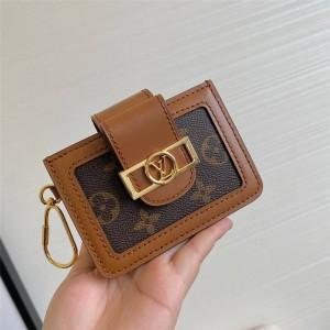 路易威登LV奢侈品网DAUPHINE MULTICARTES 卡夹零钱包M68751