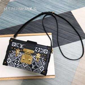 路易威登官网LV奢侈品购物网站女士PETITE MALLE 手袋盒子包M57212