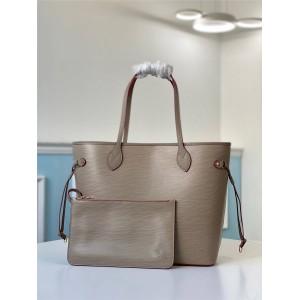 路易威登LV香港官网水波纹NEVERFULL 中号手袋购物袋M56947