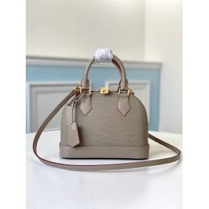 路易威登官网LV全球奢侈品购物网水波纹ALMA BB 手袋贝壳包M57028