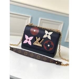 路易威登官网LV奢侈品包包品牌印花Twist MM中号手袋M57057