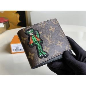 路易威登官网LV奢侈品加盟新款刺绣MULTIPLE 钱夹M60895