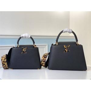 路易威登官网LV奢侈品专卖CAPUCINES BB 手袋M57215/M57216
