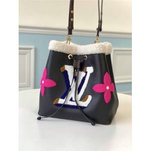 路易威登官网LV奢侈品论坛NÉONOÉ 手袋羊毛水桶包M56963