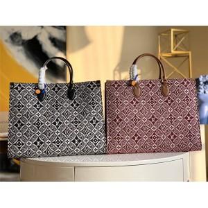 路易威登官网LV奢侈品团购ONTHEGO 大号手袋购物袋M57185/M57207