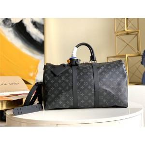 路易威登官网LV奢侈品购物KEEPALL 45/55 旅行袋M40569/M40605