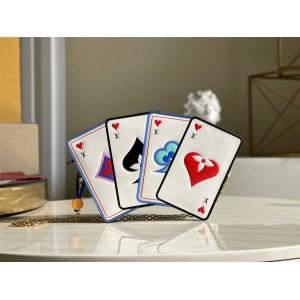 路易威登官网lv皮具新款扑克牌Game on系列链条包M80226