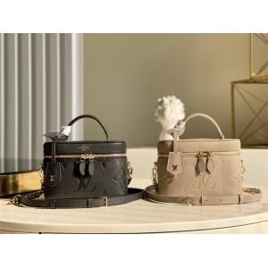 路易威登官网LV时尚女包新款VANITY 小号手袋化妆包M45608/M45598