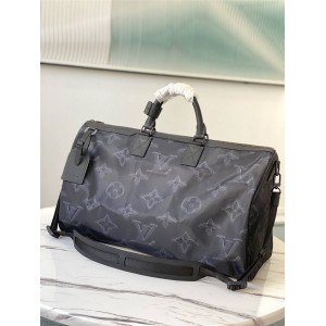 LOUIS VUITTON LV官网双面2054 REVERSIBLE KEEPALL BANDOULIÈRE 50 旅行袋M45602