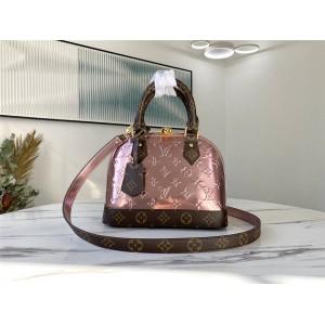 路易威登官网LV世界名牌女包金属色ALMA BB 手袋贝壳包M90583