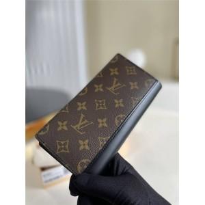 路易威登官网LV奢侈品牌男士长款TANON 西装钱夹M93800