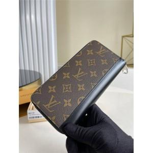 路易威登官网LV奢侈品品牌男士长款ZIPPY 拉链竖款钱夹M60109