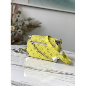 路易威登官网lv包价格黄色SOFT TRUNK盒子包M44480/M44661