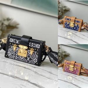 路易威登官网lv包价格PETITE MALLE 手袋盒子包 (中国限定款)M57212/M57399