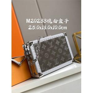 路易威登lv包官网新款Soft Trunk镜面盒子包M20233