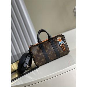 路易威登官网lv专卖店KEEPALL NANO 手袋枕头包M80201