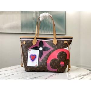 路易威登lv官网价格NEVERFULL 中号手袋购物袋M57452