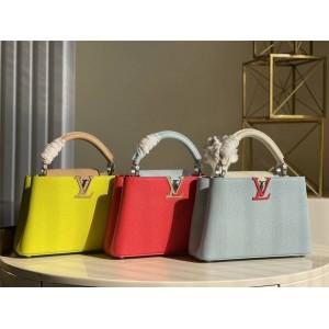 路易威登lv包包的价格CAPUCINES 迷你手袋M57519/M57520/M57521