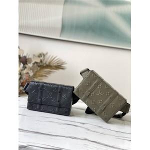 路易威登官网lv香港正品代购TRUNK 单肩包胸包M57952