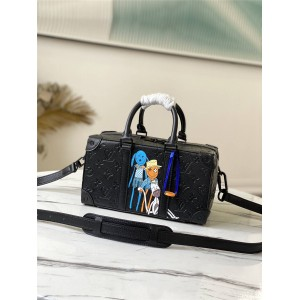 路易威登lv官方正品SPEEDY SOFT TRUNK 手袋箱子包M57410