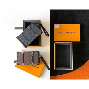 路易威登官网lv电视广告WALLET TRUNK 小硬箱盒子包M20249/M20250