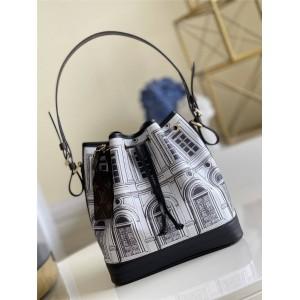路易威登lv皮包官网卢浮宫系列 Noé 手袋水桶包M69712