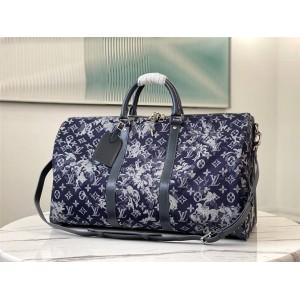 路易威登官网lv包包价格KEEPALL BANDOULIÈRE 50 旅行袋M57285