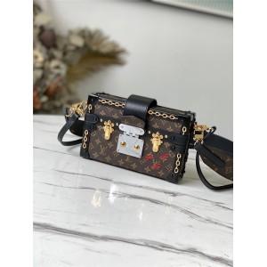 路易威登官网lv图片女包Petite Malle 手袋盒子包M45554