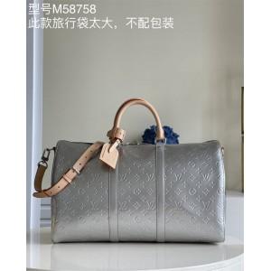 路易威登官网南京lv专柜正品KEEPALL BANDOULIÈRE 50 旅行袋M45886
