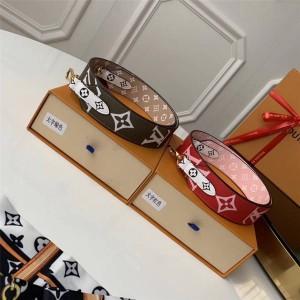 Louis Vuitton 精仿lv女士包包拼色MONOGRAM 肩带J02442