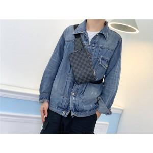 Louis Vuitton lv包包价格男包棋盘格GERONIMOS 胸包挎包N51994