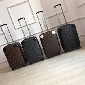 Louis Vuitton LV官网中文版行李箱登机箱经典老花棋盘格四轮拉杆箱M23061