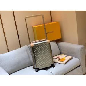 路易威登lv专卖店官网登机箱钛合金monogram镭射图案拉杆箱行李箱M23204